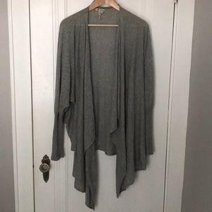 BCBG lightweight batwing cardigan sweater